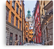 Lost in Gamla Stan Canvas Print