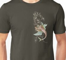 Fantasy Fish Art Nouveau Unisex T-Shirt