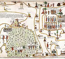 1704 Gemelli Map of the Aztec Migration from Aztlan to Chapultapec Geographicus AztecMigration gemelli 1704 by Adam Asar
