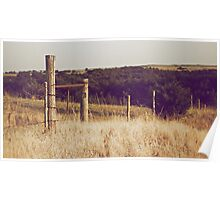 A Fence in the Country Poster