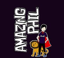 Amazing Phil the Superhero iphone cover by rozle27