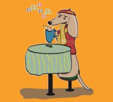 Dachshund Cafe by Diana-Lee Saville