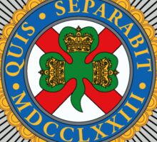 Irish Guards Sticker
