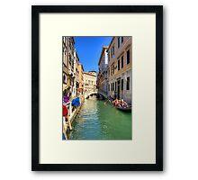Ponte Tron Framed Print