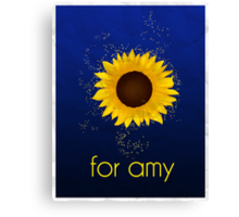 For Amy Canvas Print
