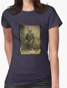 Stuart of the steam clock  Womens Fitted T-Shirt
