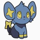Shinx Pokedoll Art by methuselah