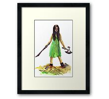 River Tam from Serenity/Firefly Cards and Prints Framed Print