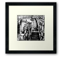 Unit of Stoppages Employee's Traveling to Work. Framed Print
