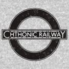 Chthonic Railway by Stephen Sanderson