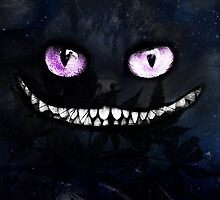 Cheshire cat by UnknownGraphist