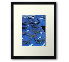 Boys and Toys  Framed Print