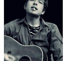 Bob Dylan by Kanagie