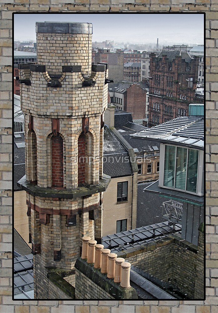 Mackintosh Tower by simpsonvisuals