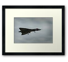 Last flight of the Vulcan Framed Print
