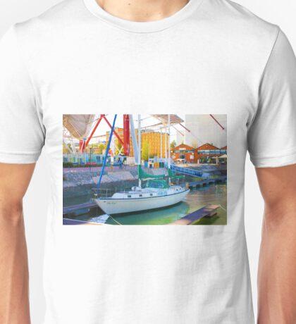 doca de sto amaro. ILHA AZUL Unisex T-Shirt