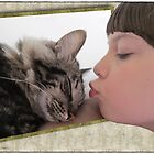 Sleeping cat-beauty by Olga