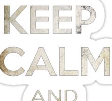 Keep Calm And Follow Daryl Sticker