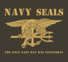 Navy SEALs Stencil by 5thcolumn