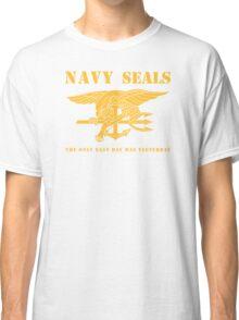 Navy SEALs Stencil Classic T-Shirt