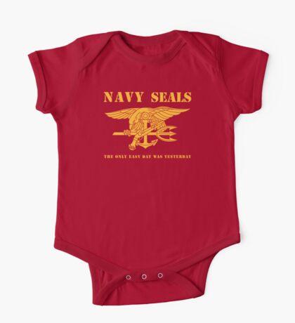 Navy SEALs Stencil One Piece - Short Sleeve