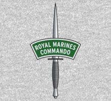 Royal Marines Commando Badge Kids Clothes