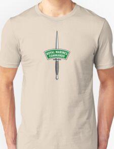 Royal Marines Commando Badge Unisex T-Shirt