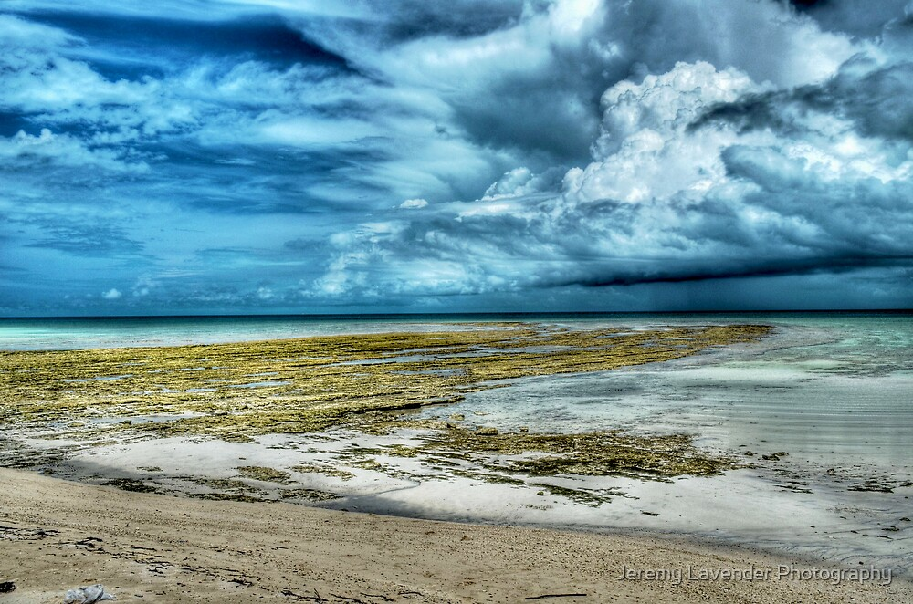 Storm coming from the East at Yamacraw Beach in Nassau, The Bahamas by Jeremy Lavender Photography