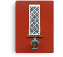 Window and Lantern Canvas Print