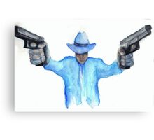 Raylan Givens from Justified Cards and Prints Canvas Print