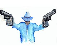 Raylan Givens from Justified Cards and Prints Photographic Print