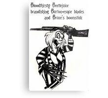 Beetlejuice T-shirt Metal Print