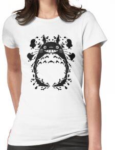 Totororschach Womens Fitted T-Shirt