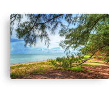 Coral Harbour Beach in Nassau, The Bahamas Canvas Print