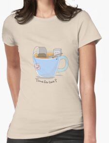 Time for tea? Womens Fitted T-Shirt
