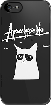 Apocalypse No (Grumpy Cat) by jezkemp