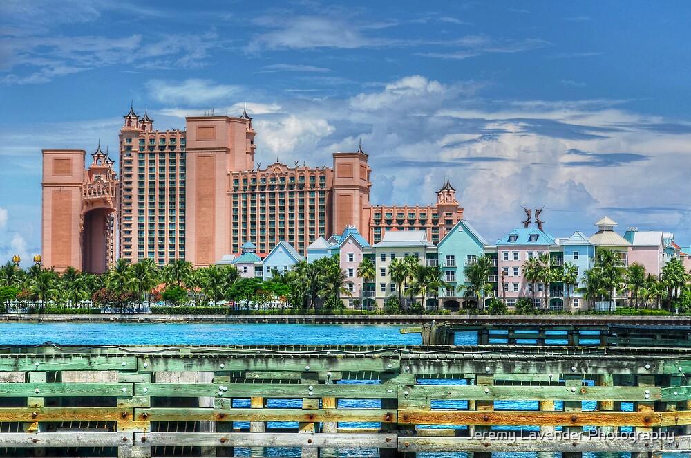 Atlantis and Harbor Village in Paradise Island, Nassau, The Bahamas by Jeremy Lavender Photography