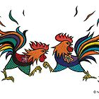 The Roosters by Nonna Mynatt