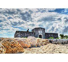 Fort Montagu in Nassau, The Bahamas Photographic Print
