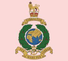 Royal Marines Commando Full Color Baby Tee