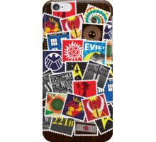 Nerd's Stamp Collection: Scattered iPhone Case/Skin