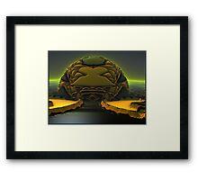 Nemesis Rising Framed Print