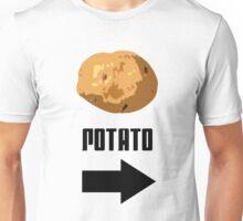 I'm With The Potato Unisex T-Shirt