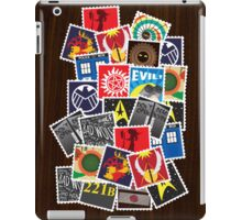 Nerd's Stamp Collection: Scattered iPad Case/Skin