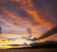 Sunset, Kapiti Is. by johnrbut