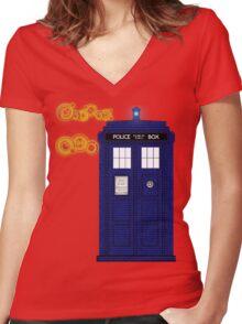 Aliases Women's Fitted V-Neck T-Shirt
