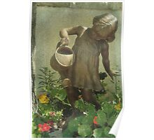 Mary, Mary Quite Contrary, How Does Your Garden Grow Poster