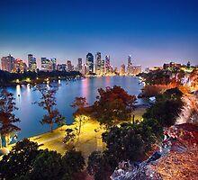 Brisbane City by stelex