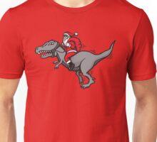 Christmas dinosaur - Santa Claus Rex Unisex T-Shirt