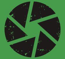 Iris Logo, black Kids Clothes